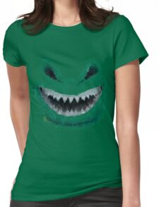 Doctor Who - Evil Snowman Womens Fitted T-Shirt