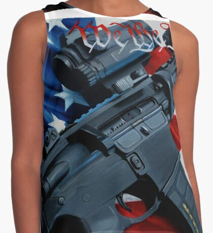 we the people Contrast Tank