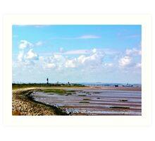 Humber Estuary Art Print