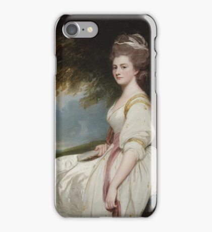 George Romney English  Elizabeth Taylor, Mrs. Charles Chaplin iPhone Case/Skin