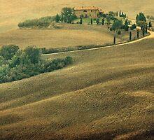 Shades of Fall-Tuscany by Deborah Downes