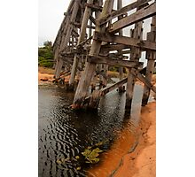 Kilcunda Trestle Bridge Photographic Print