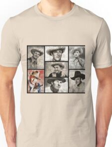 Classic Hollywood Cowboys Unisex T-Shirt