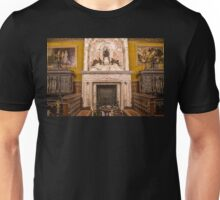 Romania. Peleș Castle. Interior. Fireplace. Unisex T-Shirt