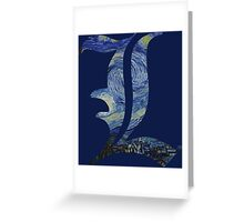 Starry L Greeting Card