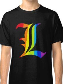 Rainbow L Classic T-Shirt