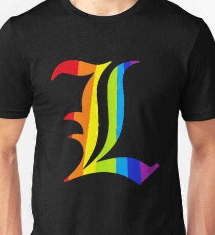 Rainbow L Unisex T-Shirt