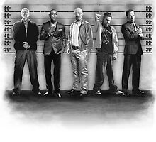 Breaking Bad/ The Usual Suspects (BW) by ronin47design