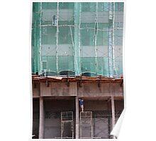 Men build Giants - Kuala Lumpur, Malaysia. Poster