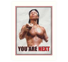 Chong Li - You are NEXT! Art Print