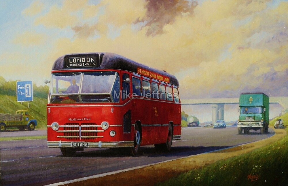 Midland Red M1 express by Mike Jeffries