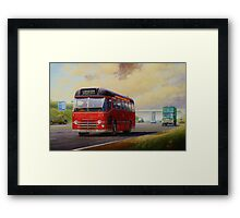 Midland Red M1 express Framed Print