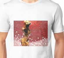 Girl blowing snow 2 Unisex T-Shirt