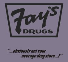 Fay's Drugs | the Immortal Yellow Bag Kids Clothes