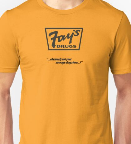 Fay's Drugs | the Immortal Yellow Bag Unisex T-Shirt