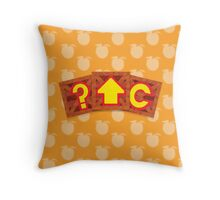 Crash Bandicoot Crates Throw Pillow