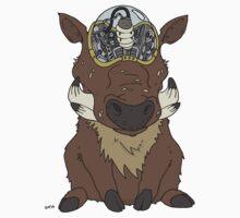 Grub and Robot Warthog Kids Tee