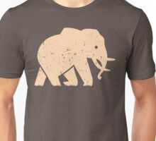 Elephant Baby Safari in Savanna Casual Unisex T-Shirt