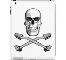 Carpet Installer Skull iPad Case/Skin