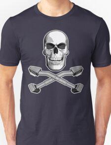 Carpet Installer Skull Unisex T-Shirt