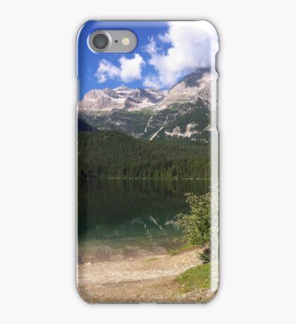 Lago di Tovel, Italy iPhone Case/Skin