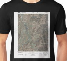 USGS TOPO Map Colorado CO Bayfield 20110217 TM Unisex T-Shirt