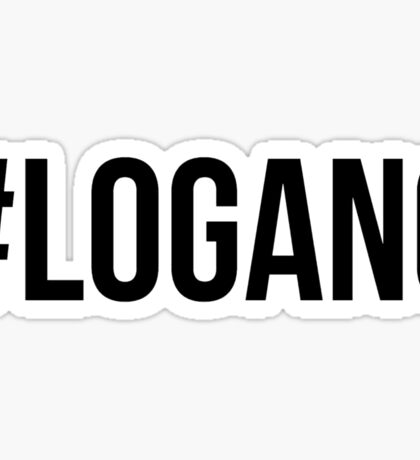 #LOGANG - Black Font Sticker