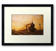 Up express to Paddington Framed Print