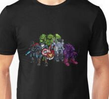 1st Marvellian Mechavengers, assemble! Unisex T-Shirt