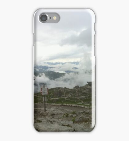 The Road above the Clouds iPhone Case/Skin