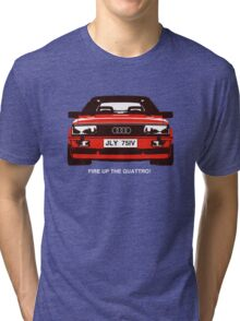 Fire Up the Quattro! Tri-blend T-Shirt