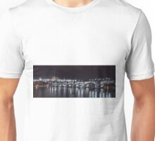 Prague castle and Charles bridge Unisex T-Shirt
