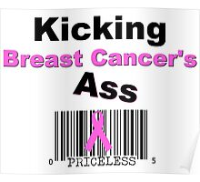Kicking Breast Cancers A$$ Poster