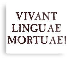 Long Live Dead Languages - Latin Metal Print