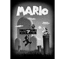 Mario in Limbo  Photographic Print