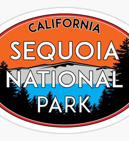 SEQUOIA NATIONAL PARK CALIFORNIA REDWOOD MOUNTAINS HIKE HIKING CAMP CAMPING 3 Sticker