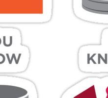 Robron Icons Sticker