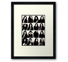 Vampire Diaries Elena - Nina Framed Print