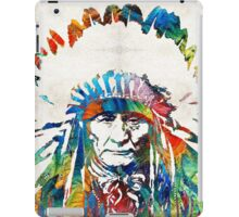 Native American Art - Chief - By Sharon Cummings iPad Case/Skin