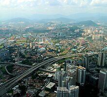 Cityscape - Kuala Lumpur, Malaysia by Tiffany Lenoir