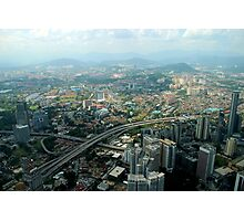 Cityscape - Kuala Lumpur, Malaysia Photographic Print