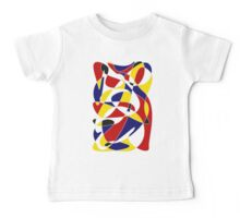 MONDRIAN AND GAUSS Baby Tee