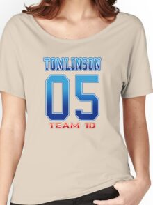 TEAM 1D - TOMLINSON Women's Relaxed Fit T-Shirt