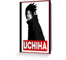 Sasuke Uchiha Greeting Card