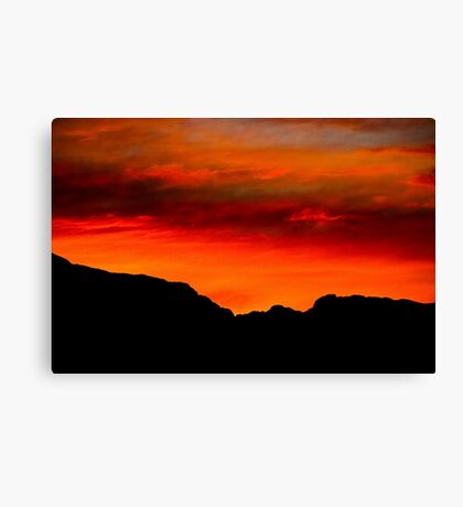 New Mexican Sunrise Canvas Print