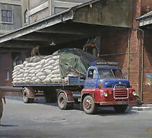 Articulated lorries. by Mike Jeffries