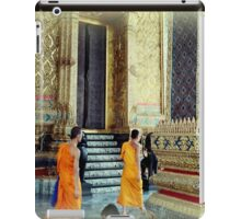 Monks at the Palace iPad Case/Skin