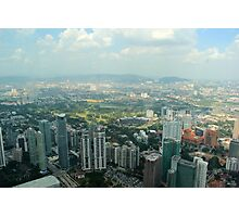 Cityscape III - Kuala Lumpur, Malaysia. Photographic Print
