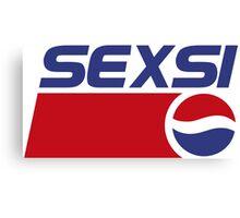 Pepsi - Sexsi  Canvas Print
