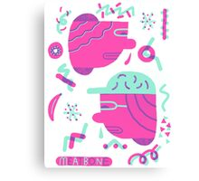 Funky Heads Canvas Print